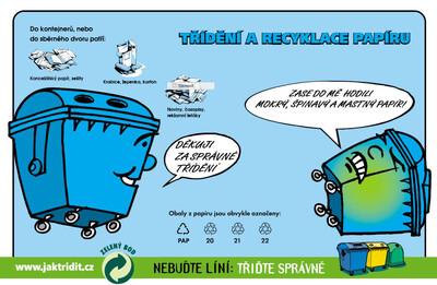 Jihlava: Papírový detektiv pro třídění odpadu